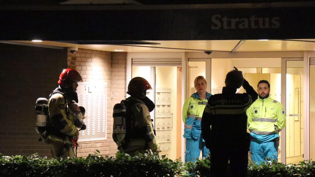 Twee bewoners flat Amstelveen naar ziekenhuis na brand
