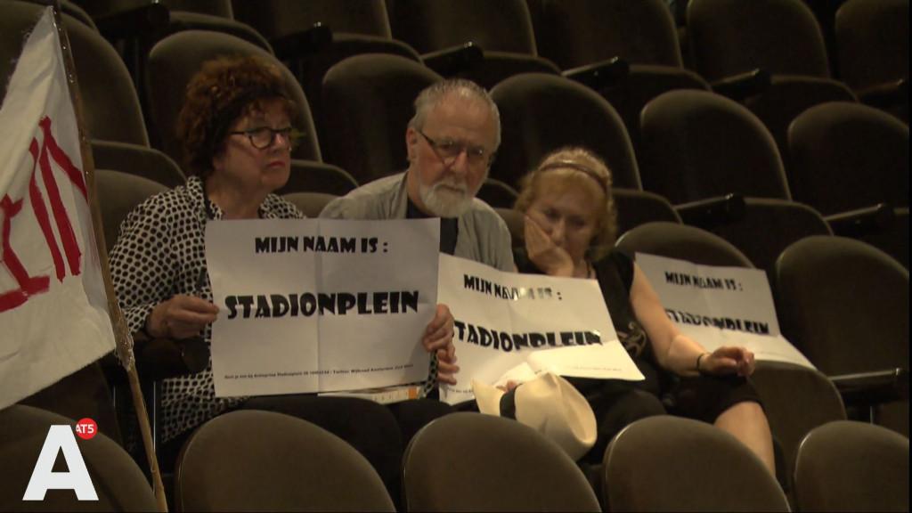 College beslist: naamswijziging Stadionplein voorlopig uitgesteld