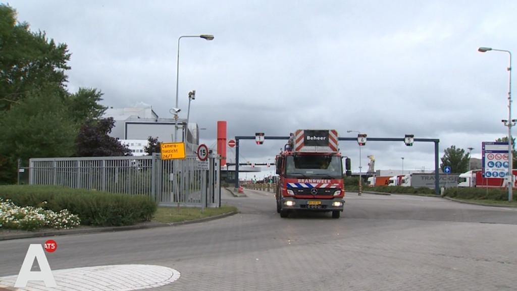 Brand bij afvalverwerkingsbedrijf AEB lastig te blussen