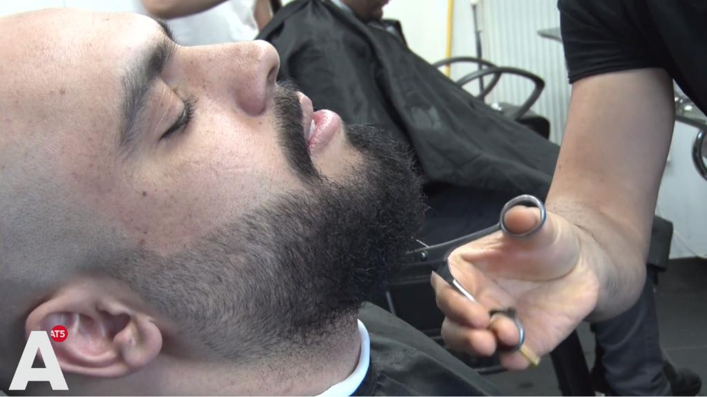 Drukte bij kappers vanwege het einde van de Ramadan