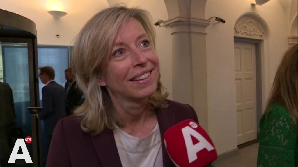 Minister Ollongren over Halsema: 'Zij heeft er zin in, en ik heb er vertrouwen in'