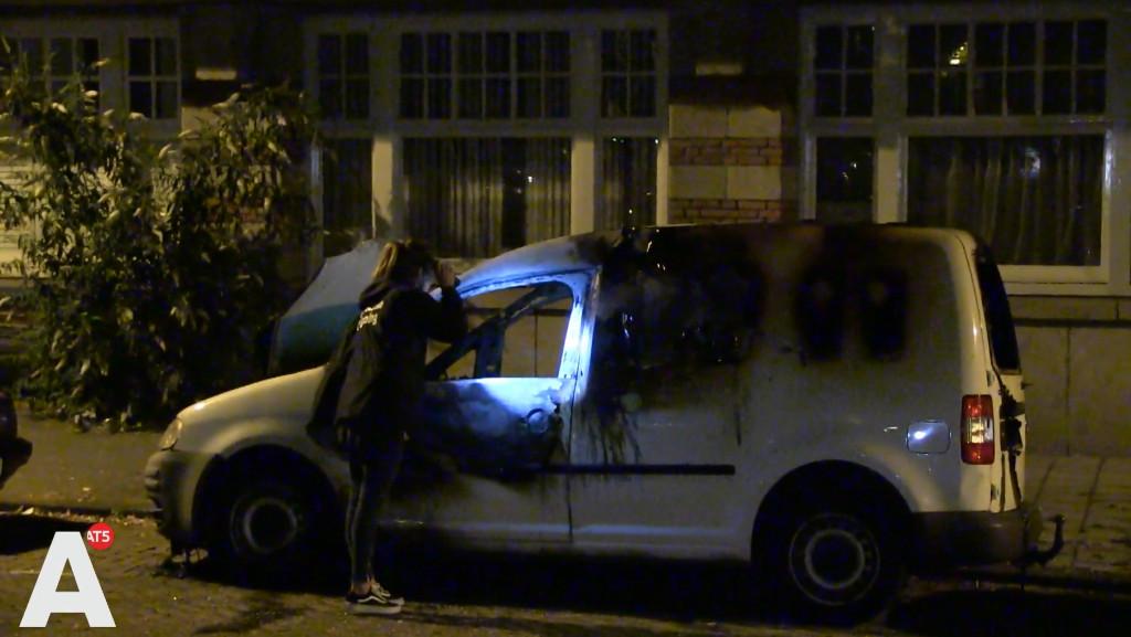 Vermoedelijke vluchtauto schietpartij De Pijp uitgebrand op Stadionkade
