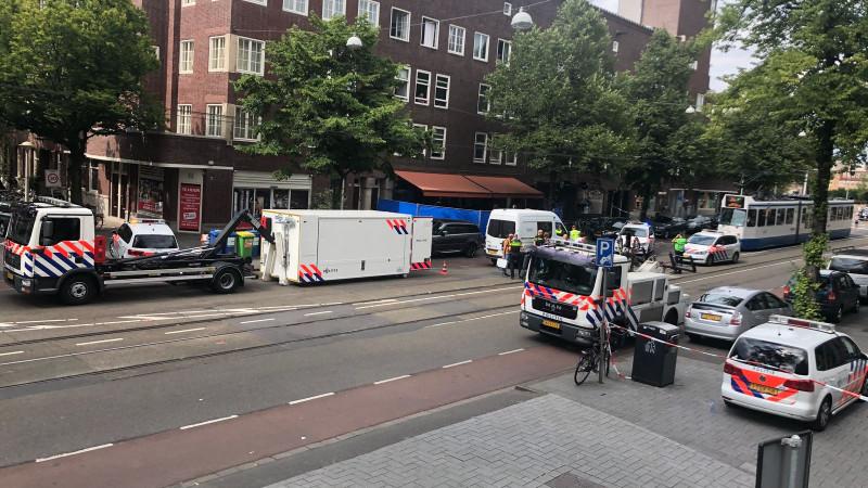 Ernstig gewonde na schietpartij in Beethovenstraat