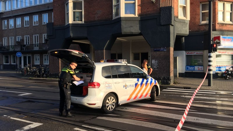 Jan Evertsenstraat, afgezet, politie, 14 augustus 2018