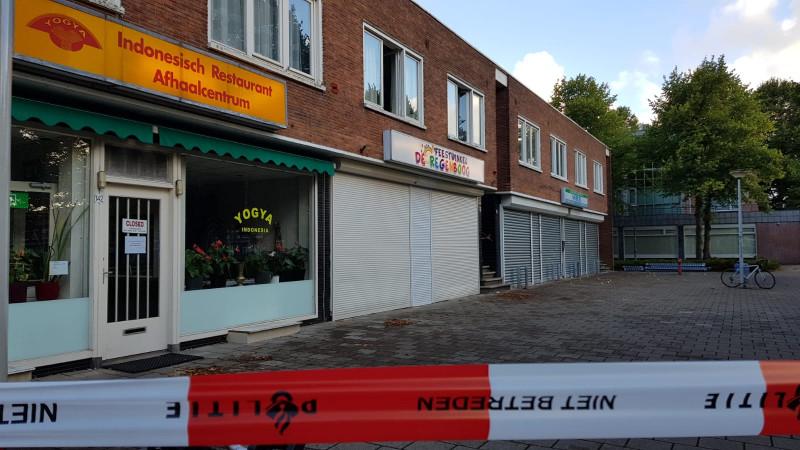 Johan Huizingalaan, schoonmaakbedrijf, granaat, explosief, 14 augustus 2018