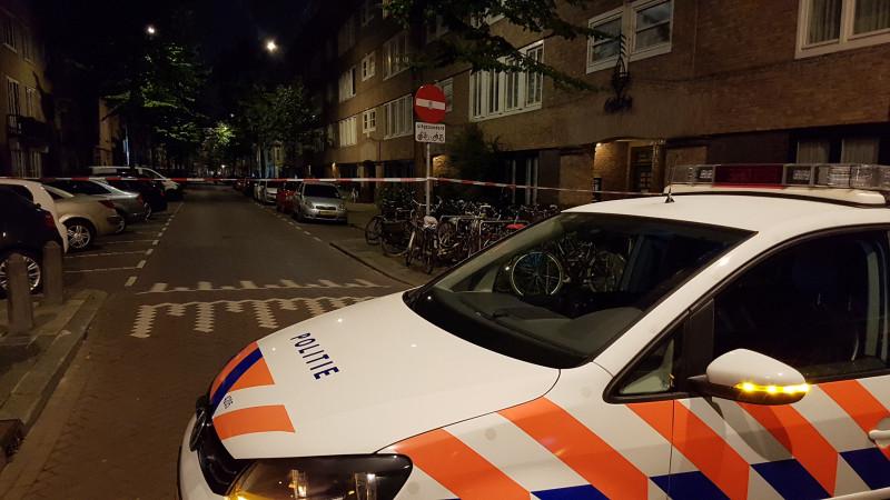 schiet van Speijkstraat Baarsjes
