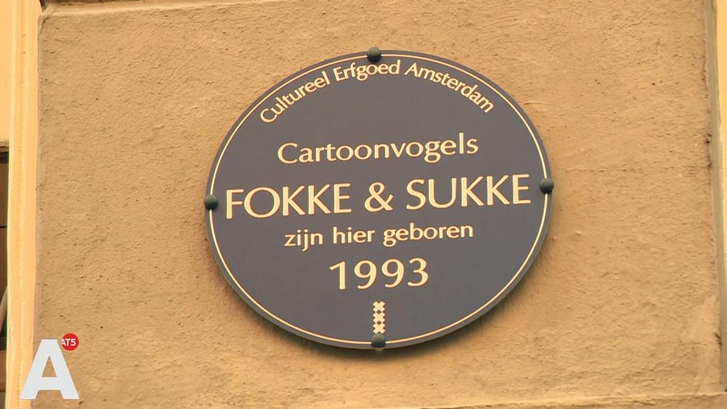 Fokke & Sukke vereeuwigd bij huis waar cartoon geboren is