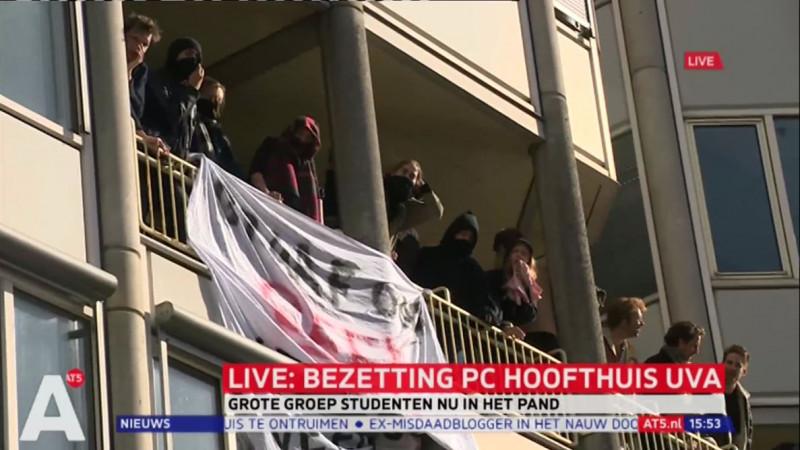 P.C. Hoofthuis bezet