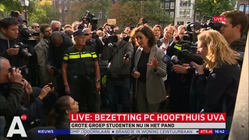 Halsema bij P.C. Hoofthuis