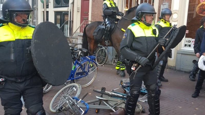 Ontruiming P.C. Hoofthuis