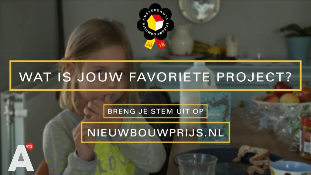 De Amsterdamse Nieuwbouwprijs 2018 : De genomineerden