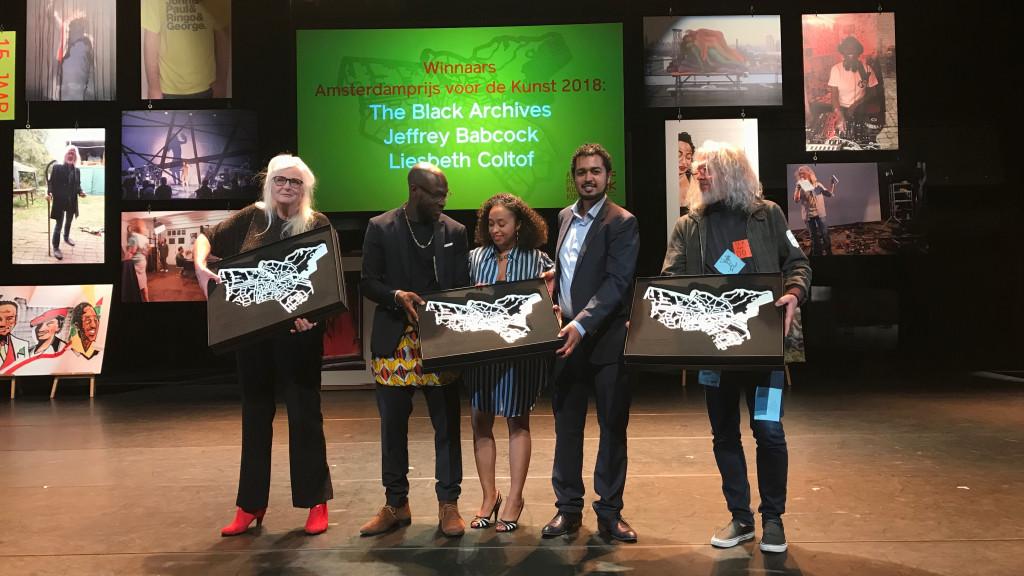 Amsterdamprijzen gaan naar The Black Archives, Jeffrey Babcock en Liesbeth Coltof