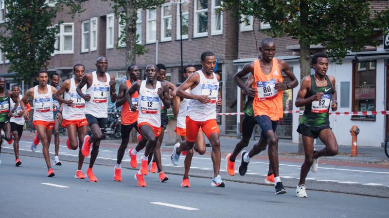 Amsterdam Marathon 2018 stock algemeen
