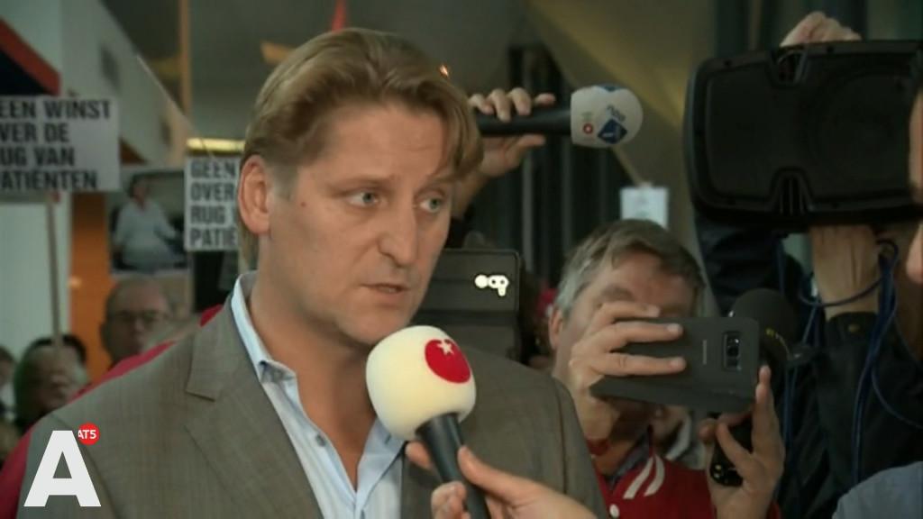 Achmea-topman uitgejouwd door gedupeerden MC Slotervaart