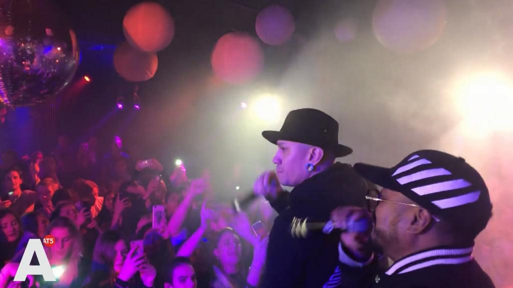 Black Eyed Peas ineens op studentenfeest: 'Ik moest dubbelchecken, zijn ze het echt?'