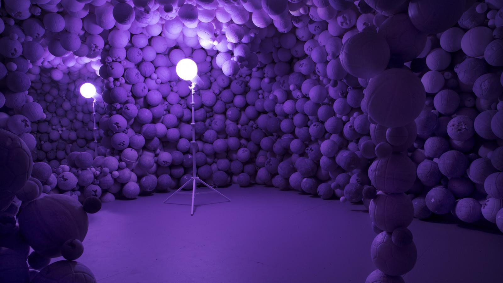 Daniel Arsham - Amethyst Ball Cavern