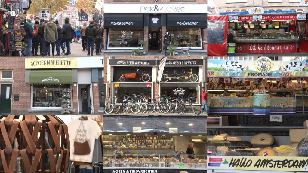 Wat is er te koop in Amsterdam?
