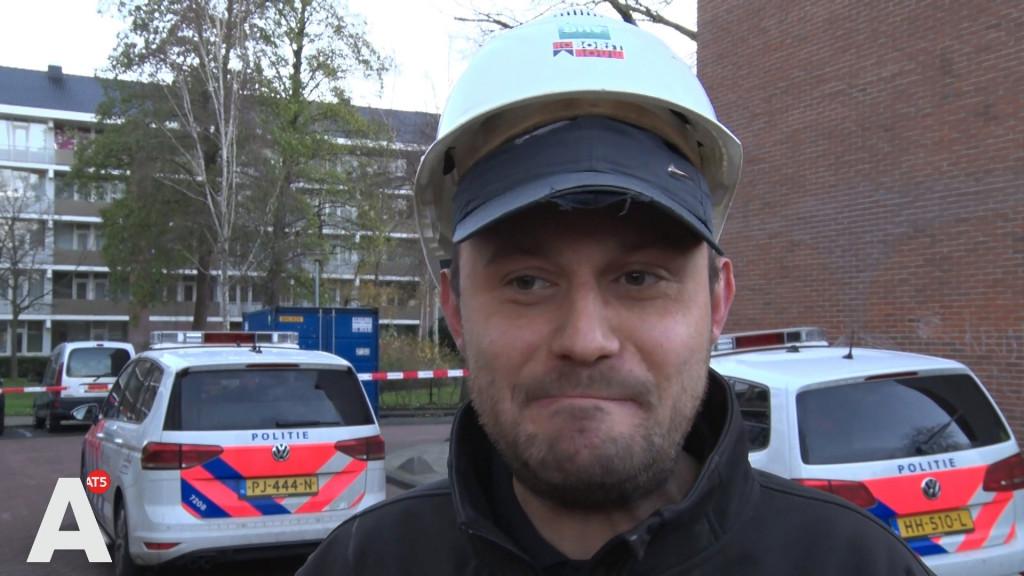 Bouwvakkers vonden mogelijk explosief: 'Het was geen gloeilamp ofzo'