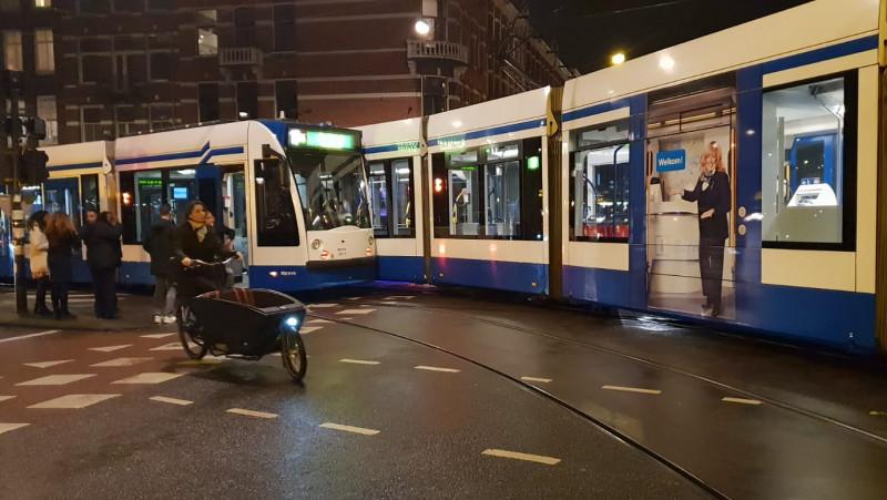 Botsing tram 17 Marnixstr