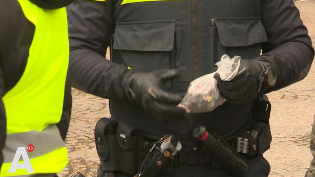 Drie arrestaties bij gele hesjes-protest; demonstratie verloopt verder rustig