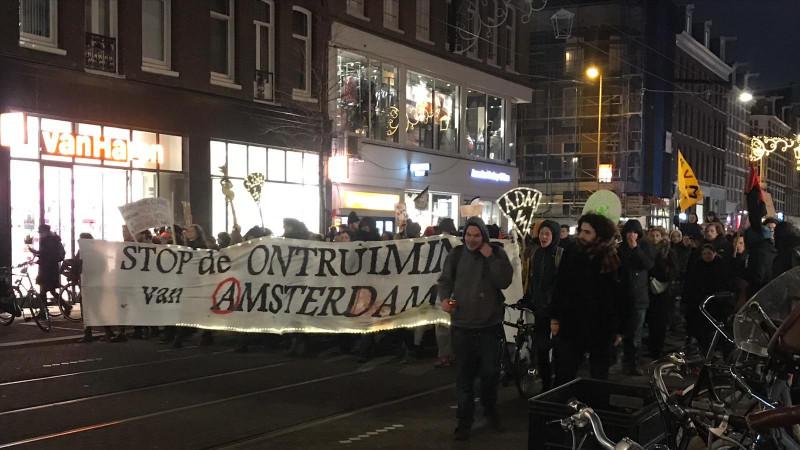 demonstratie adm