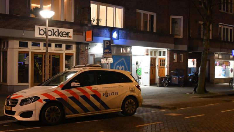 overval supermarkt Maasstraat
