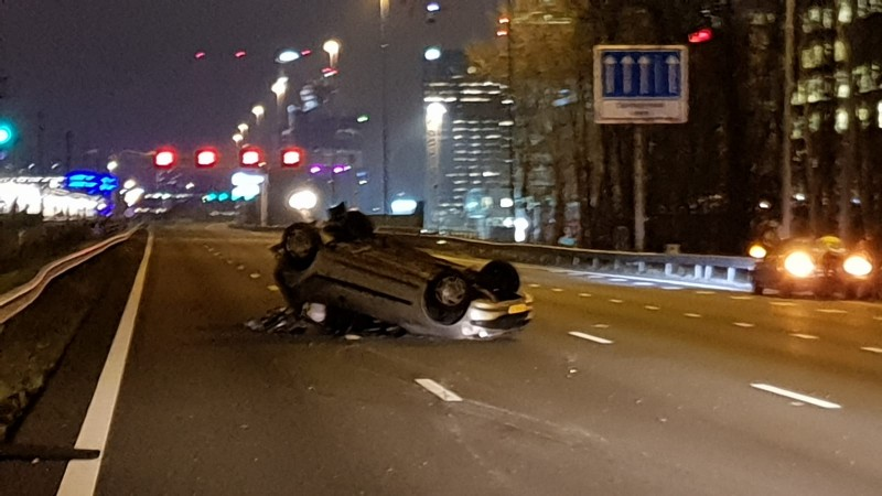 Ongeluk A10-zuid