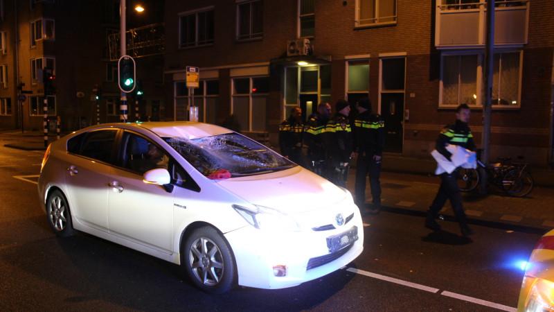 Aanrijding Haarlemmerstraat