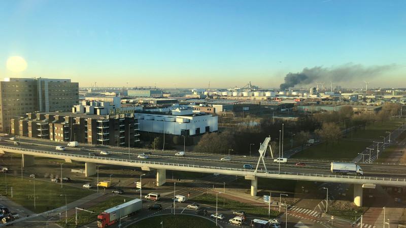 Brand Westhavenweg 2