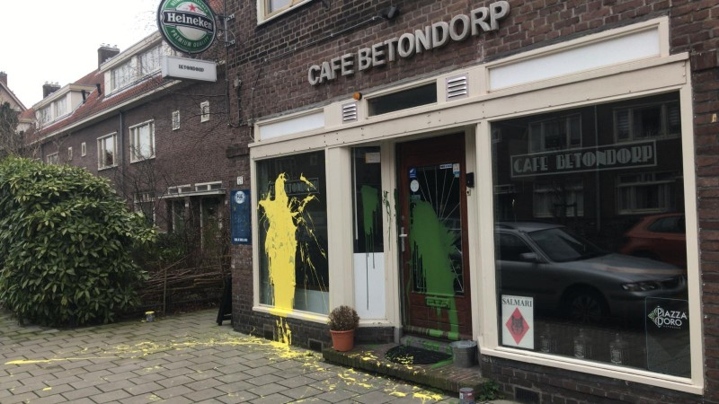 Bekladding Café Betondorp