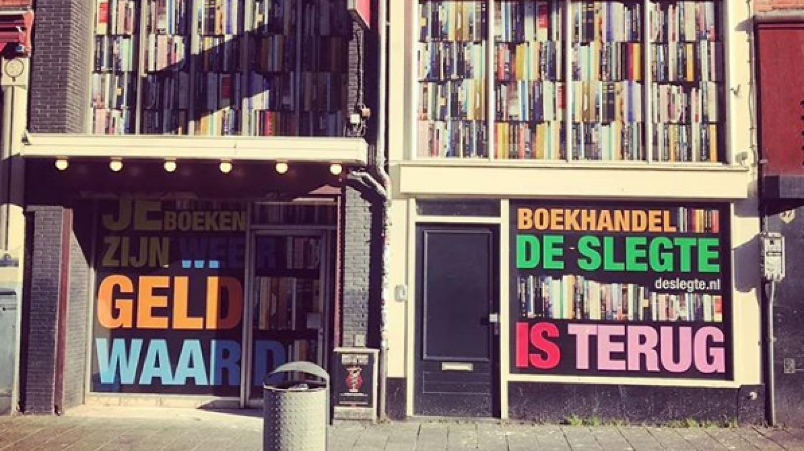 boekhandel nieuw amsterdam