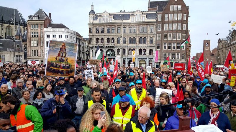 antiracisme demonstratie