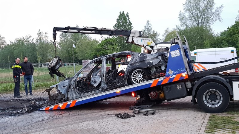 autobrand Tom Scheursweg