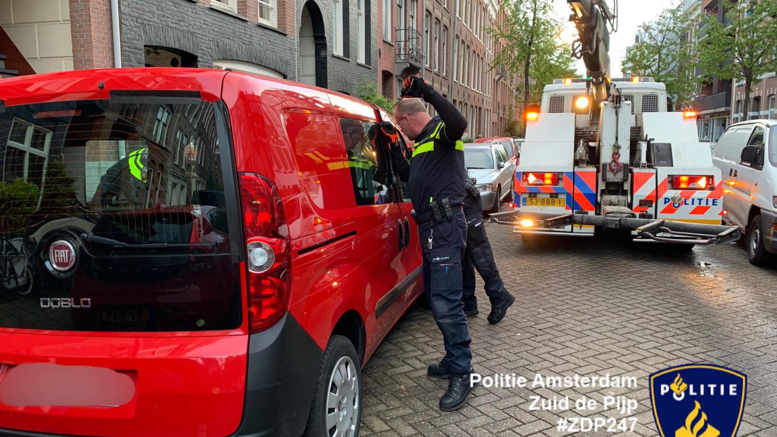 Facebook: Politie Amsterdam Zuid de Pijp