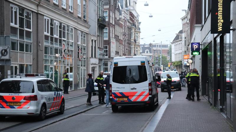 schietpartij, parkeergarage, amstelstraat, The Bank, 18 mei 2019