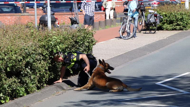 Slachtoffer zelf op de scooter naar politiebureau na steekpartij