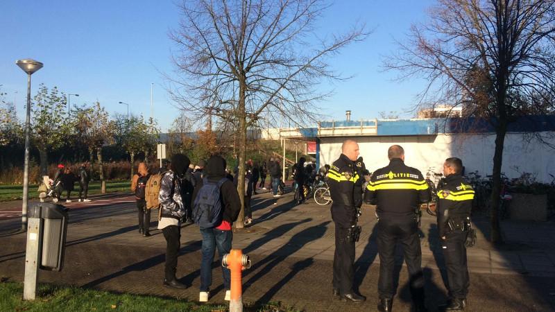 Politie ontruimt kraakpand We Are Here