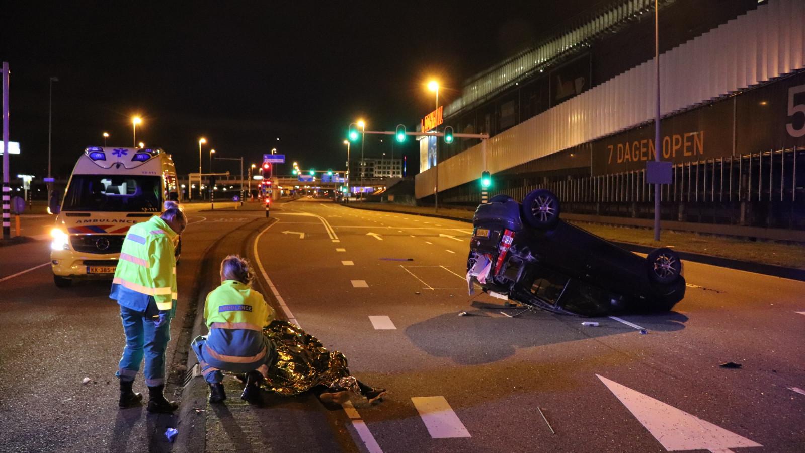 Gewonden bij zwaar ongeluk in Zuidoost.