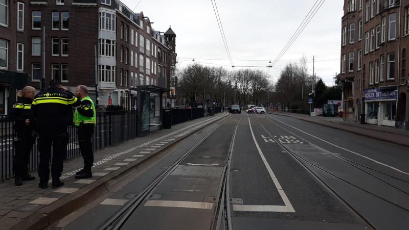 Verdacht pakketje op Amstelveenseweg