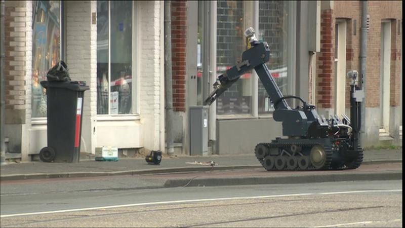 Verdacht pakketje Amstelveenseweg Hacarmel