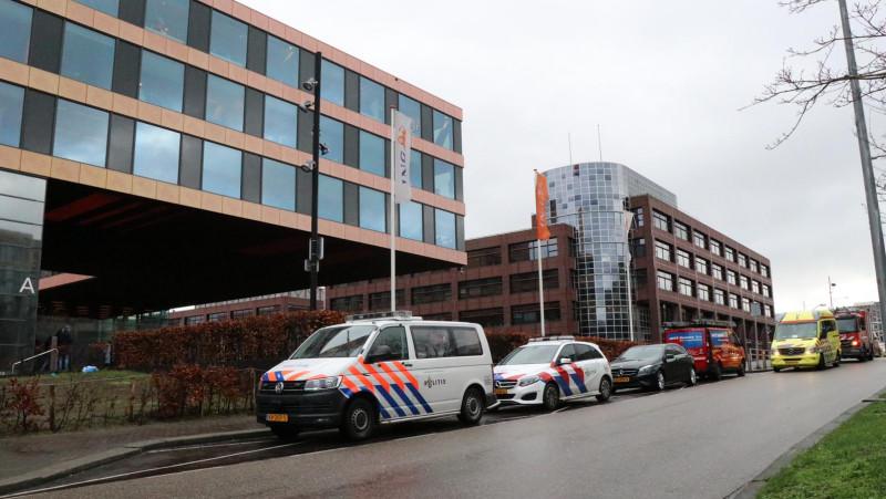 Bombrief bij kantoor ING in Zuidoost