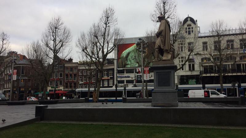 Nachtwachtbeelden Rembrandtplein definitief weg