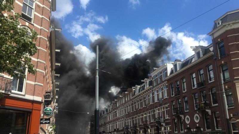Brand Ruyschstraat